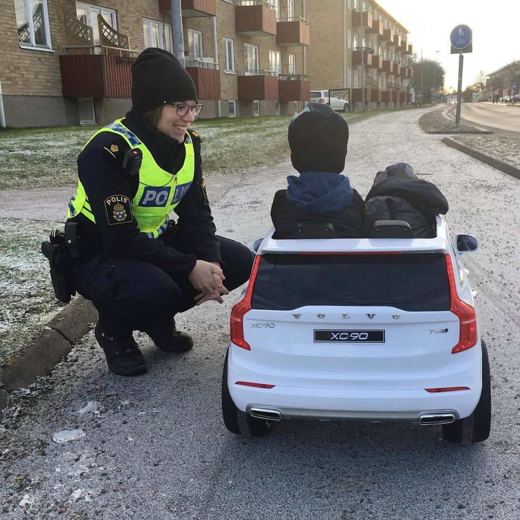 Hastighetskontroll av minderåriga