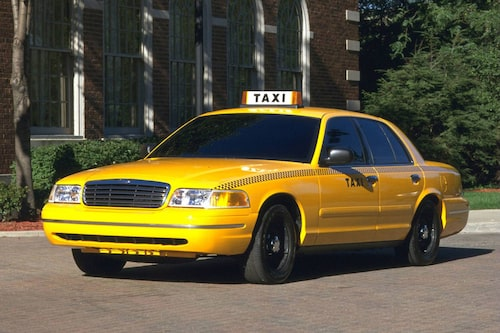 1998 Ford Crown Victoria som taxi