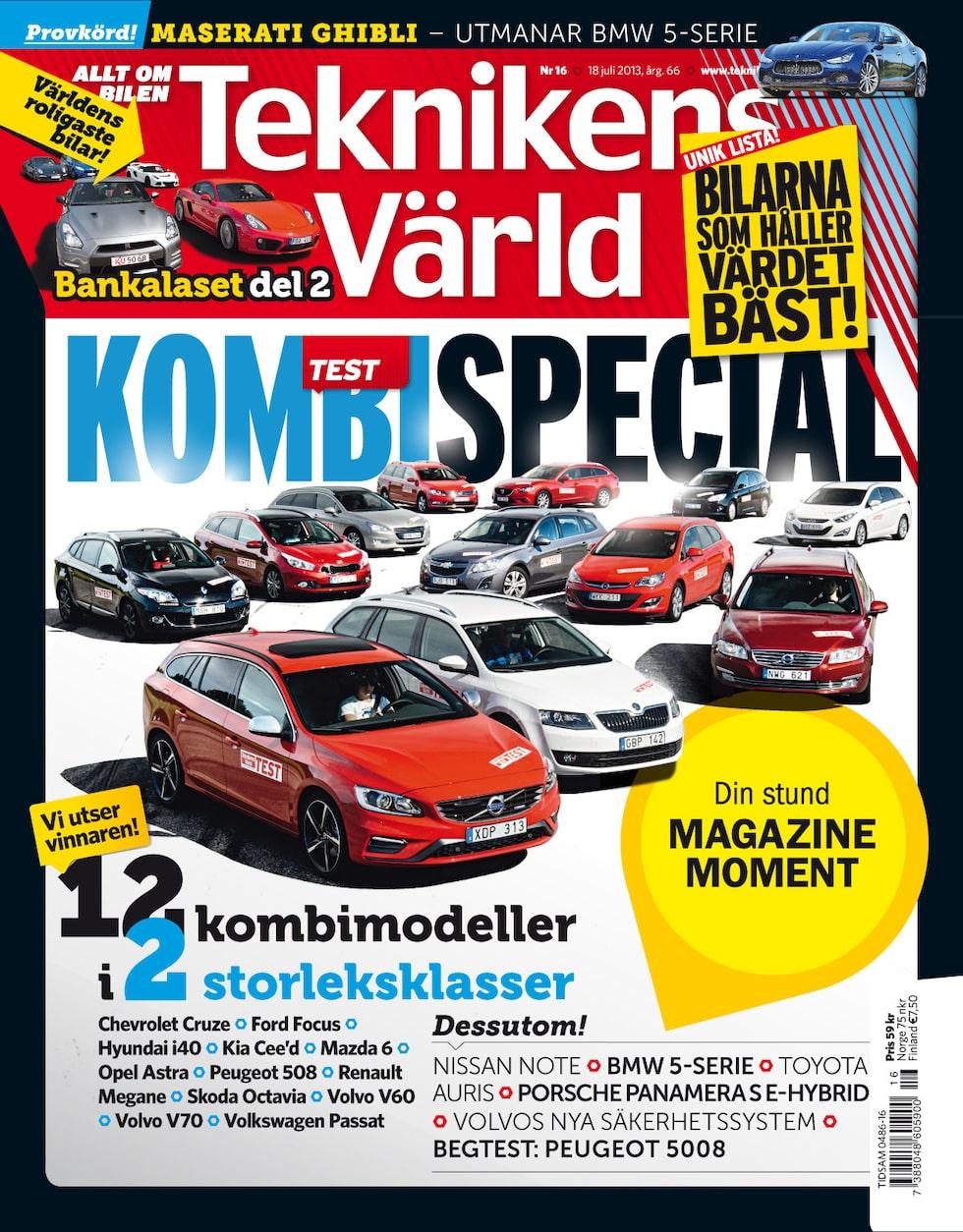 Teknikens Värld nummer 16 / 2013