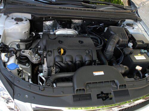 """Motorn tillhör de mindre inspirerande, trots att """"i"""" står för just inspiration enligt Hyundai."""