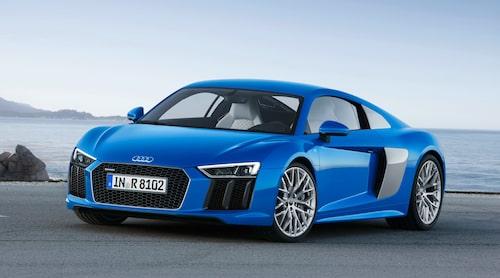 Så här ser nya Audi R8 V10 ut på riktigt. Fler bilder i galleriet nedan.