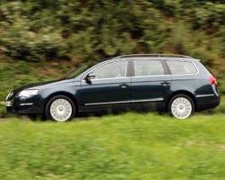 Provkörning av VW Passat Variant