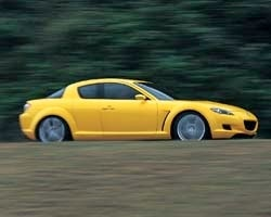 Provkörning av Mazda RX-8