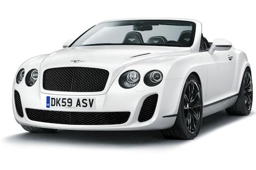 Bentley Continental Supersports Cabriolet