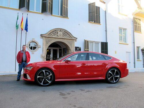Helst hade ju PeO Kjellström inte velat lämna detta hotel utan att ta med sig RS7.