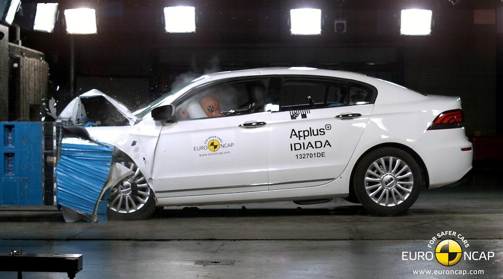 Qoros 3 Sedan Euro NCAP