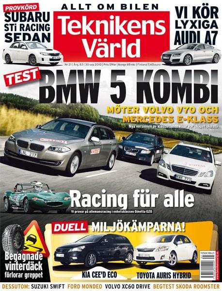 Teknikens Värld nummer 21 / 2010