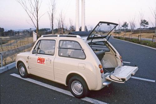 """PAO lanserades som en bil för safariresor och en mängd tillbehör fanns med """"PAO"""" ingraverat. De flesta i kulören khaki. Bilen provkörde vi i nummer 18/1989."""