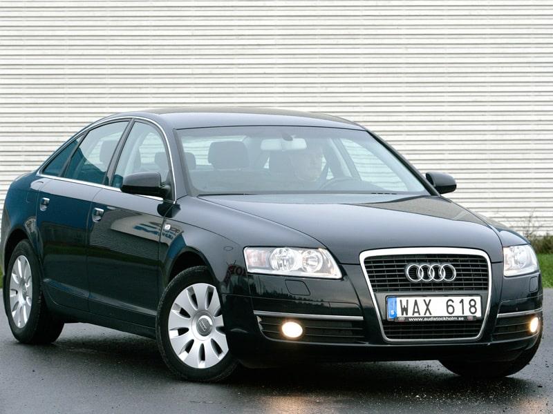Audi A6 Sedan, årsmodell 2004 och nyare.