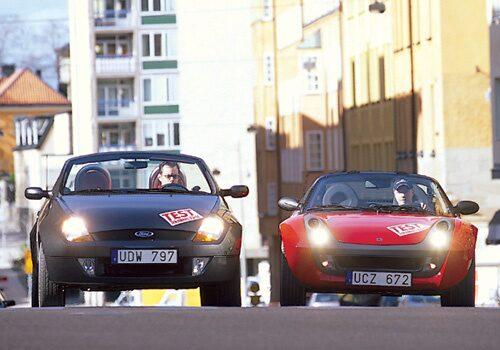 Smart Roadster och Ford StreetKa