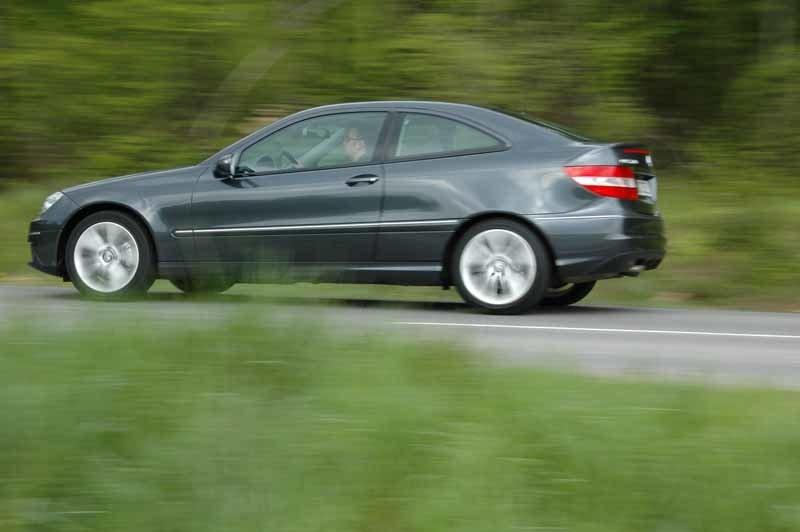 Provkörning av Mercedes CLC 220 CDI