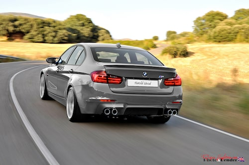 BMW M3 Sedan. Illustration: Harold Wood
