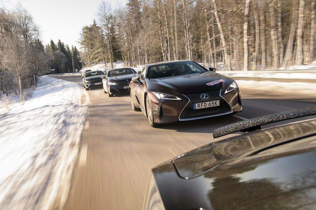 Mycket väl anpassad drivlina och hög komfortnivå genomsyrar Lexus LC 500h. En äkta GT!