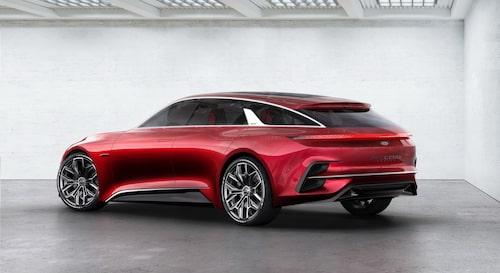 Konceptbilen Kia ProCeed Concept från hösten 2017.