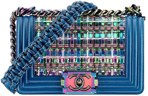 Multifärgad väska av skinn/ metall, 47 400 kr, Chanel.