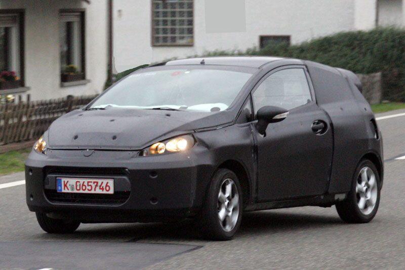 Ford Fiesta med tre dörrar