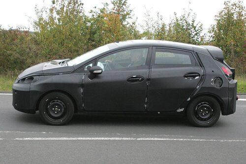 Ford Fiesta med fem dörrar