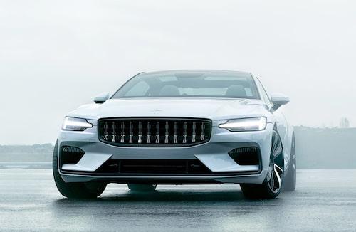 I mitten av nästa år lanseras märkets första modell. Polestar 1 är en laddhybrid med 600 hästkrafter och 15 mils räckvidd på elektricitet.