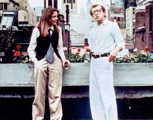 """Diane Keatons maskulina look i filmen 'Annie Hall', har blivit en klassiker."""