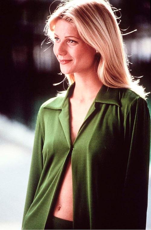 """""""Gwyneth Paltrow stylad av Donna Karen till filmen 'Lysande Utsikter 2'."""""""