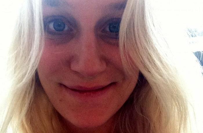 Ann Söderlund är gravid i vecka 30.