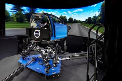 Vi-Grade chassis simulator