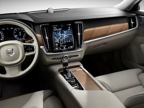 Interior cockpit Volvo S90