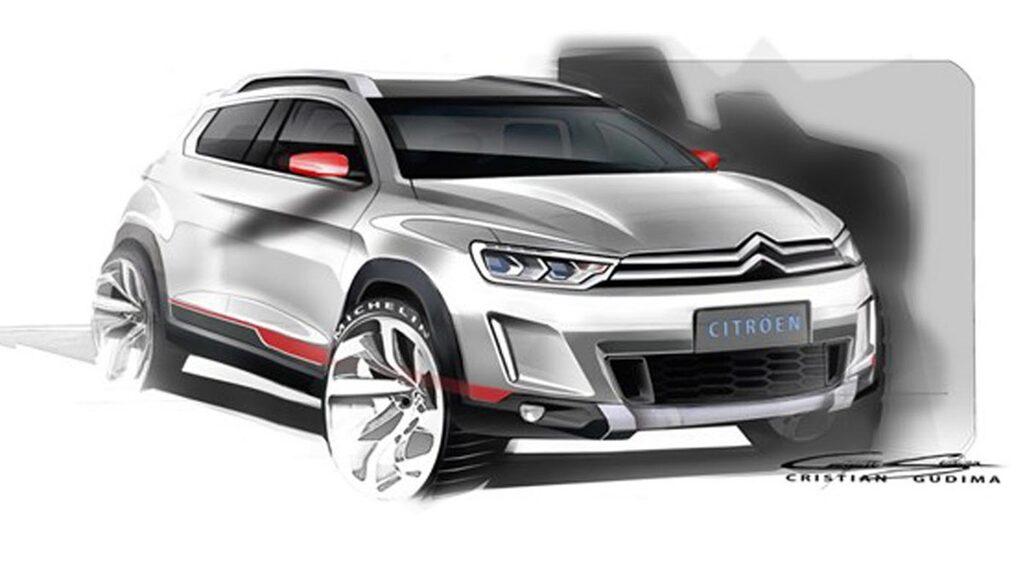 Kompakt Citroën-suv