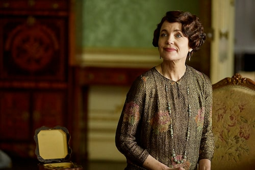 Elizabeth McGovern som Cora Crawley.