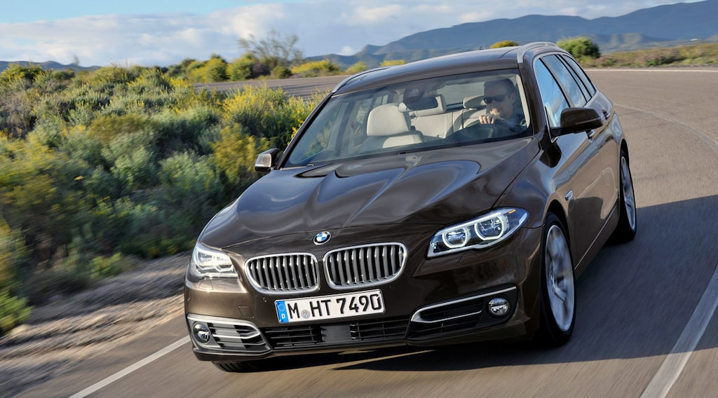 BMW 5-serie Touring F11 facelift 2014