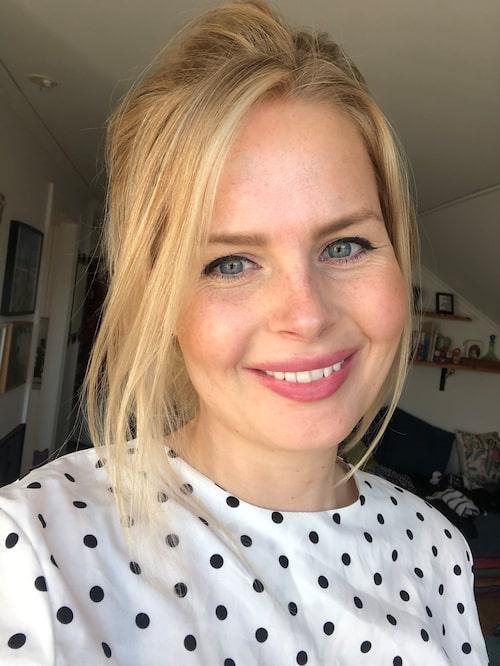 Janneke Wackerberg, 31, hållbarhetschef som bloggar om mammaledigheten.