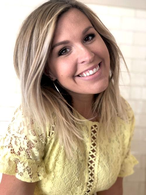 Angelica Lagergren, 34, bloggar på amelia.se
