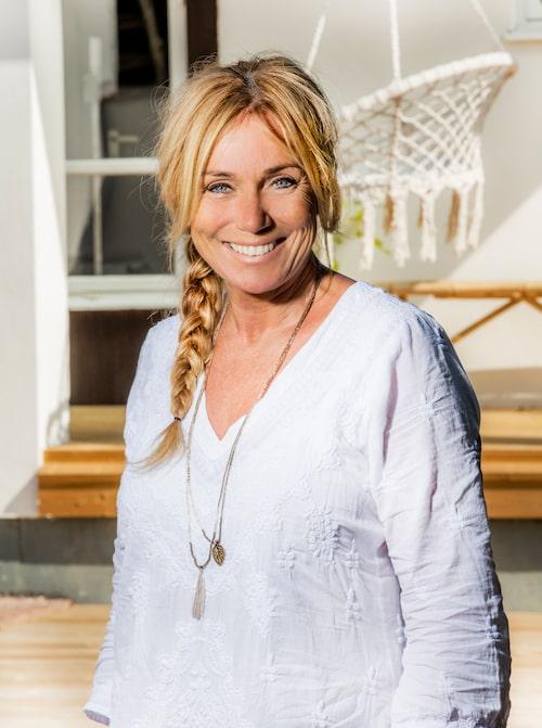 Anne Lundberg i SVT:s Husdrömmar drömmer själv gärna om Österlen.