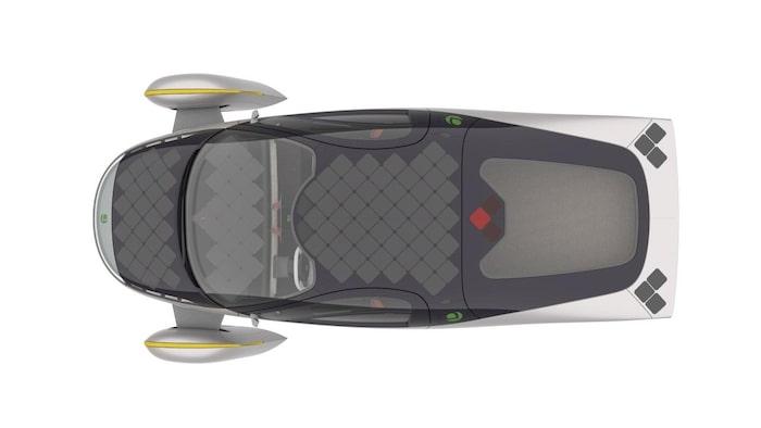 Solcellspanelerna kan täcka upp till tre kvadratmeter av bilen, beroende på vilken storlek på solcellspaketet man väljer.