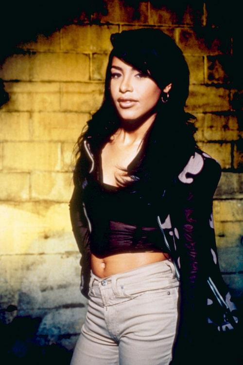 Aaliyah, en av Sabinas favoritartister.