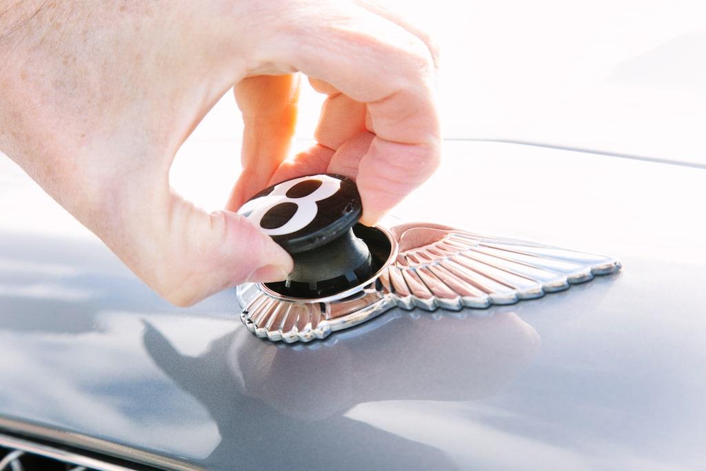 Finlir in i detaljnivå utmärker Bentley, gammal som ny. Continental GT satte ny lyxstandrd 2003.