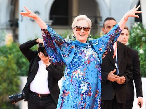Meryl Streep; stilig på alla sätt och vis.