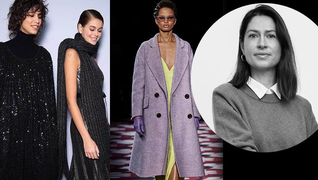 Modechef Lisa Pettersson visar hur du stylar långklänningen i höst.
