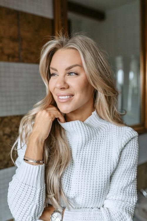 Therese Lindgren är stor inom vegansk skönhet med märket Indy Beauty.
