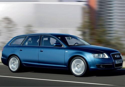 Provkörning av Audi A6 Avant