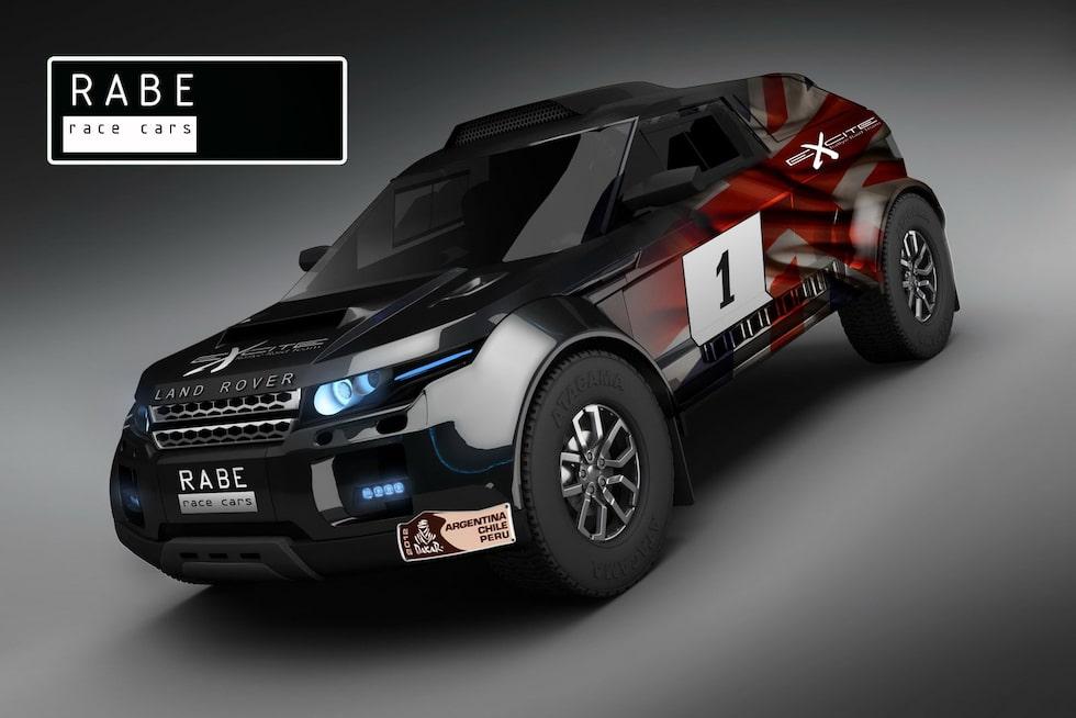 Rabe Race Cars Range Rover Evoque