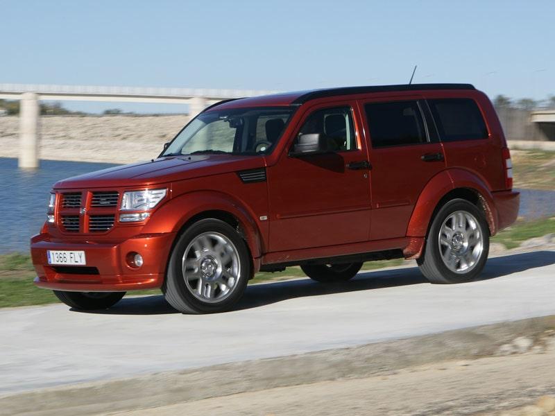 Provkörning av Dodge Nitro