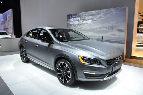 S60 Cross Country stod i Volvos monter i Detroit förra månaden. En blivande succé som får andra tillverkare att följa efter?
