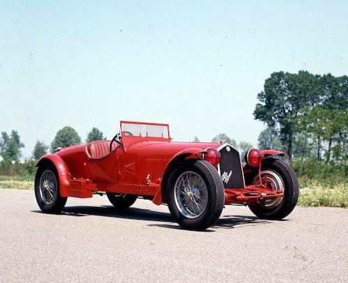 Alfa Romeo var framgångsrika under 30-talet. 1931 och 1932 ställde man upp med denna bil 8C 2300.