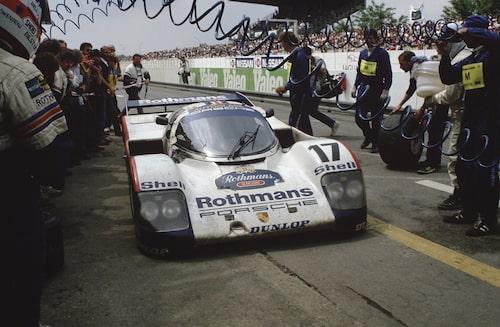 Porsche Porsche 962C vann 1987.