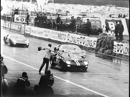 Ford GT40 vann Le Mans åren 1966 till 1969.