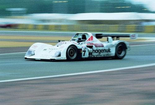 Svensk seger med Stefan Johansson i team med Michele Alboreto, Tom Kristensen och TWR Porsche WSC-95.