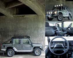 Provkörning av Land Rover Defender 110 Td5 Double Cab (Tom Raider)