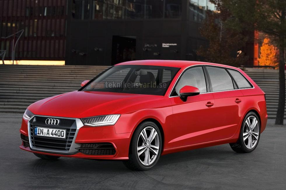 Lite kantigare, lite snålare, lite starkare. Trots att detta anses vara ett designmässigt jättekliv går Audi varsamt fram med sin kassako.