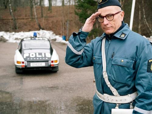 Till er tjänst. Med Porsche 911 blev polisen aldrig frånkörd.